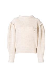 Jersey de ochos en beige de Isabel Marant