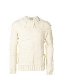 Jersey de ochos en beige de Maison Flaneur