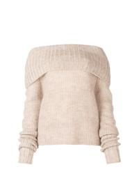 Jersey de ochos en beige de McQ Alexander McQueen
