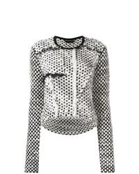 Jersey de ochos en negro y blanco de Rochas