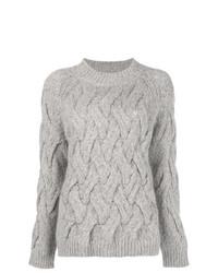 Jersey de ochos gris de Fabiana Filippi