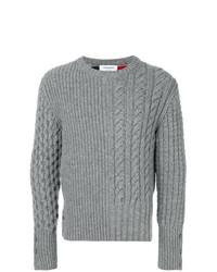 Jersey de ochos gris de Thom Browne