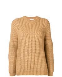 Jersey de ochos marrón claro