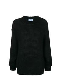 Jersey de ochos negro de Prada