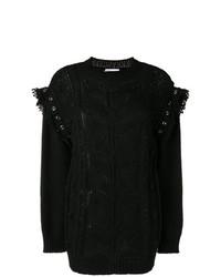 Jersey de ochos negro de RED Valentino