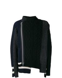 Jersey de ochos negro de Sacai