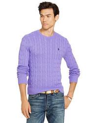 Jersey de ochos violeta claro