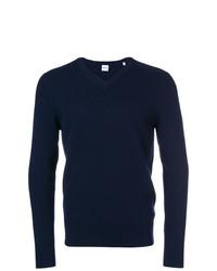 Jersey de pico azul marino de Aspesi
