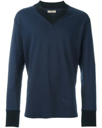 Jersey de pico azul marino