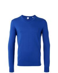 Jersey de pico azul de Aspesi