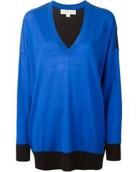 Jersey de pico azul de MICHAEL Michael Kors