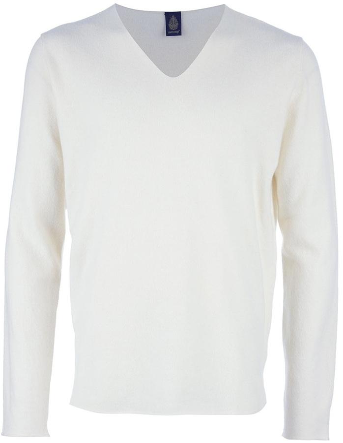 Jersey de pico blanco de Dondup