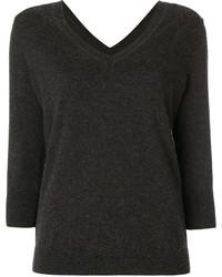 Jersey de pico en gris oscuro de Etoile Isabel Marant