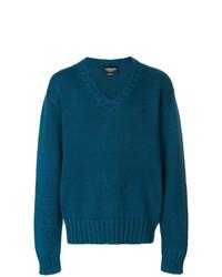 Jersey de pico en verde azulado de Calvin Klein 205W39nyc