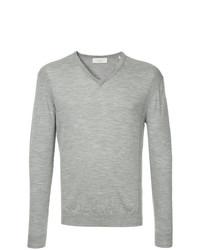 Jersey de pico gris de Cerruti 1881
