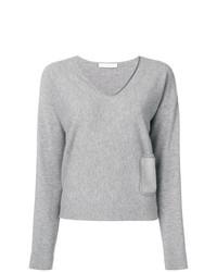 Jersey de pico gris de Fabiana Filippi