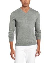 Jersey de pico gris de Raffi Linea Uomo
