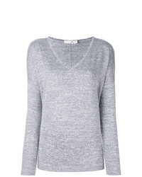 Jersey de pico gris de rag & bone/JEAN