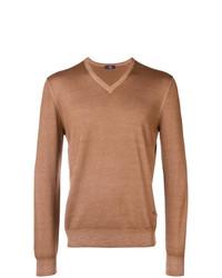 Jersey de pico marrón claro de Fay