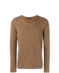 Jersey de pico marrón claro de Roberto Collina