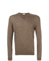 Jersey de pico marrón de Fashion Clinic Timeless