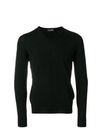 Jersey de pico negro de Drumohr