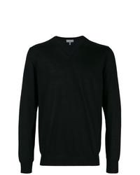Jersey de pico negro de Lanvin