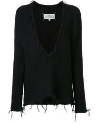 Jersey de pico negro de Maison Margiela