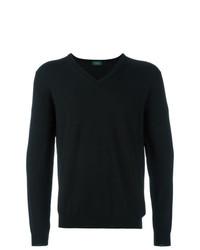 Jersey de pico negro de Zanone