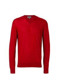 Jersey de pico rojo de Lanvin