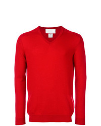 Jersey de pico rojo de Pringle Of Scotland