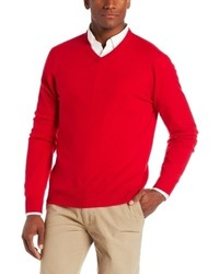 Jersey de pico rojo de Williams Cashmere