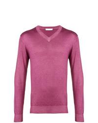 Jersey de pico rosa de Cruciani