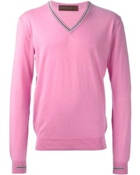Jersey de pico rosa de Etro