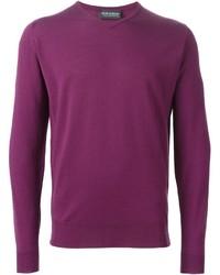 Jersey de pico rosa de John Smedley