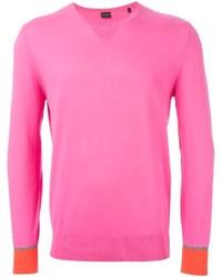 Jersey de pico rosa de Paul Smith