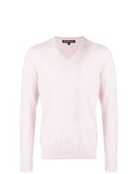Jersey de pico rosado de Michael Kors Collection