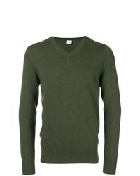 Jersey de pico verde oliva de Aspesi