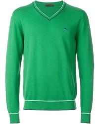 Jersey de pico verde de Etro