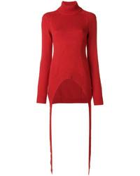 Jersey de punto rojo de Givenchy