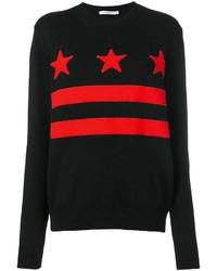 Jersey de rayas horizontales negro de Givenchy