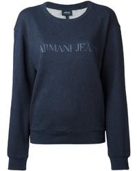 Jersey estampado azul marino de Armani Jeans