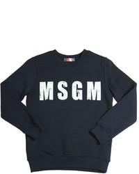 Jersey Estampado Azul Marino de MSGM