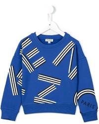 Jersey estampado azul de Kenzo