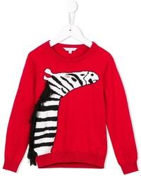 Jersey estampado rojo de Little Marc Jacobs