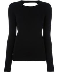 Jersey negro de Diane von Furstenberg