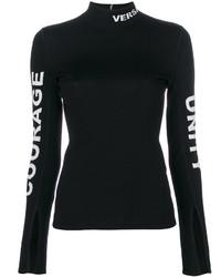 Jersey Negro de Versace