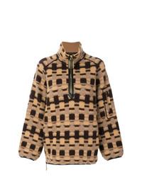 Jersey oversized a cuadros marrón claro de Marc Jacobs