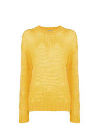 Jersey oversized amarillo de Prada