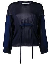 Jersey Oversized Azul Marino de Kenzo